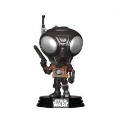 Figurine Pop Star Wars The Mandalorian Q9-Zero Metailic Funko Boutique Geneve Suisse