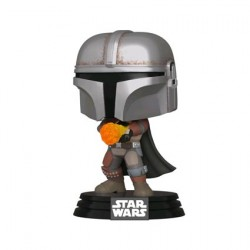 Figurine Pop Star Wars The Mandalorian Wrist Rocket Metallic Edition Limitée Funko Boutique Geneve Suisse