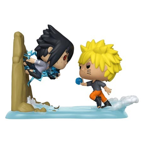 Figur Pop Manga Naruto Shippuden Naruto vs Sasuke Movie Moment Limited Edition Funko Geneva Store Switzerland