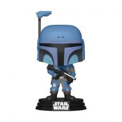 Figurine Pop Star Wars Metallic The Mandalorian Death Watch Edition Limitée Funko Boutique Geneve Suisse
