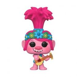 Figurine Pop Trolls World Tour Poppy with Guitar Edition Limitée Funko Boutique Geneve Suisse