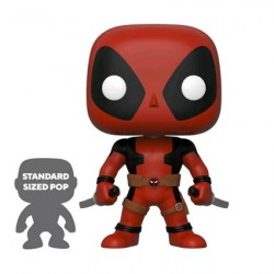 Figur Pop 25 cm Marvel Deadpool Two Swords Red Limited Edition Funko Geneva Store Switzerland
