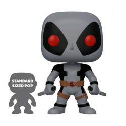 Figur Pop 25 cm Marvel Deadpool Two Swords Grey Limited Edition Funko Geneva Store Switzerland