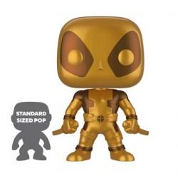 Figuren Pop 25 cm Marvel Deadpool Two Swords Gold Limitierte Auflage Funko Genf Shop Schweiz