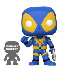 Figur Pop 25 cm Marvel Deadpool Thumbs Up Blue Limited Edition Funko Geneva Store Switzerland