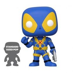 Figuren Pop 25 cm Marvel Deadpool Thumbs Up Blau Limitierte Auflage Funko Genf Shop Schweiz
