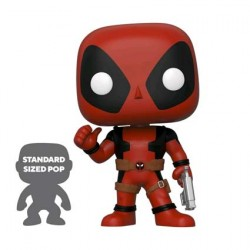 Pop 25 cm Marvel Deadpool Thumbs Up Red Limited Edition