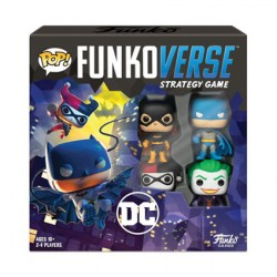 Pop Funkoverse DC Comics Board Game 4 Character Base Set French Version