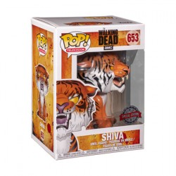 Figurine Pop The Walking Dead Shiva Edition Limitée Funko Boutique Geneve Suisse