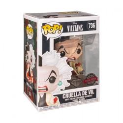 Figurine BOITE ENDOMMAGE - Pop Disney Diamond 101 Dalmations Cruella Glitter Edition Limitée Funko Boutique Geneve Suisse