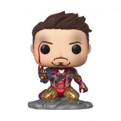 Figurine Pop Phosphorescent Marvel Endgame I Am Iron Man Edition Limitée Funko Boutique Geneve Suisse