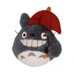 Figur My Neighbor Totoro Plush Figure Totoro Red Umbrella Sun Arrow - Studio Ghibli Geneva Store Switzerland
