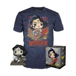 Figuren Pop und T-shirt DC Comics Wonder Woman Limitierte Auflage Funko Genf Shop Schweiz