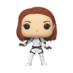 Figurine Pop Marvel Black Widow White Suit Funko Boutique Geneve Suisse