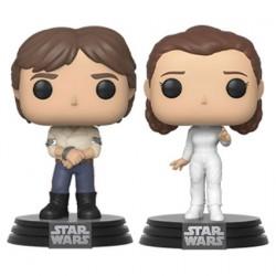 Figurine Pop Star Wars Han et Leia Pack 2 Funko Boutique Geneve Suisse