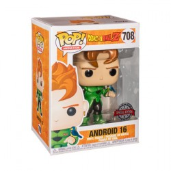 Figurine Pop Dragon Ball Z Metallic Android 16 Edition Limitée Funko Boutique Geneve Suisse