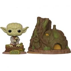Figurine Pop Town Star Wars Yoda's Hut L'Empire Contre Attaque 40ème Anniversaire Funko Boutique Geneve Suisse