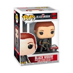 Figur Pop Marvel Black Widow Grey Suit Limited Edition Funko Geneva Store Switzerland