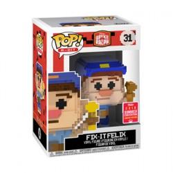 Figurine Pop SDCC 2018 Disney Wreck it Ralph Fix It Felix 8-Bit Edition Limitée Funko Boutique Geneve Suisse