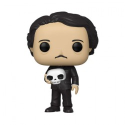 Figurine Pop Edgar Allan Poe avec Skull Funko Boutique Geneve Suisse