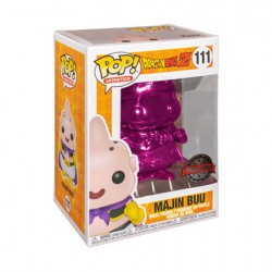 Figurine Pop Dragon Ball Z Pink Chrome Majin Buu Edition Limitée Funko Boutique Geneve Suisse