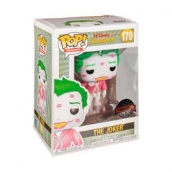 Figurine Pop DC Bombshells Pink & White Joker with Kisses Edition Limitée Funko Boutique Geneve Suisse