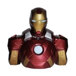 Figurine Tirelire Marvel Buste Iron Man Semic Boutique Geneve Suisse