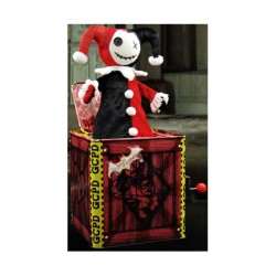 Figur Harley Quinn Music Box Jack in the Box 29 cm Geek X Geneva Store Switzerland