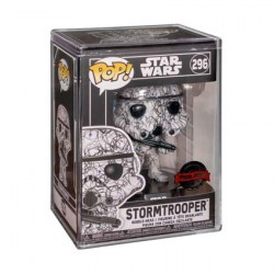 Figur Pop Futura Star Wars Stormtrooper with Hard Acrylic Protector Limited Edition Funko Geneva Store Switzerland