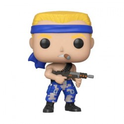 Figurine Pop Games Contra Bill Funko Boutique Geneve Suisse