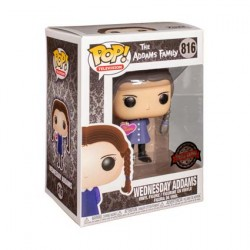 Figur Pop The Addams Family (2019) Wednesday Addams with Valentine's Day Heart Limited Edition Funko Geneva Store Switzerland