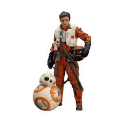 Figuren Star Wars Episode VII pack 2 Statuen 18 cm Poe Dameron & BB-8 7 Kotobukiya Genf Shop Schweiz