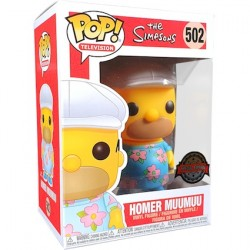 Figurine Pop The Simpsons Homer in Muumuu Edition Limitée Funko Boutique Geneve Suisse