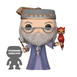 Figurine Pop 25 cm Harry Potter Dumbledore avec Fawkes Funko Boutique Geneve Suisse