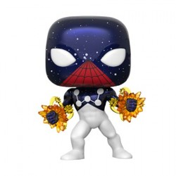 Figurine Pop Spider-Man Captain Universe Edition Limitée Funko Boutique Geneve Suisse