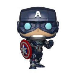 Figurine Pop Marvel's Avengers (2020) Captain America Funko Boutique Geneve Suisse