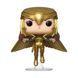 Figur Pop Wonder Woman 1984 Wonder Woman Gold Armour Flying Pose Funko Geneva Store Switzerland