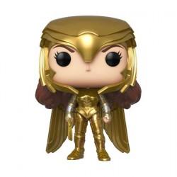 Figur Pop Wonder Woman 1984 Wonder Woman Gold Armour Power Pose Funko Geneva Store Switzerland