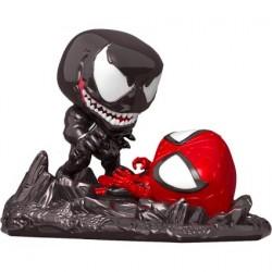 Figurine Pop Comic Moments Spider-Man Venom vs Spider-Man Metallic Edition Limitée Funko Boutique Geneve Suisse
