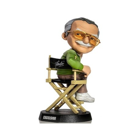 Figur Stan Lee Statue 14 cm Iron Studio Geneva Store Switzerland