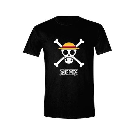 Figur T-Shirt One Piece Luffy Logo PCM Geneva Store Switzerland