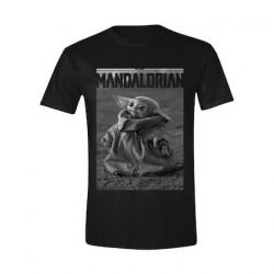 Figuren T-Shirt Star Wars The Mandalorian The Child Tonal (Baby Yoda) Genf Shop Schweiz