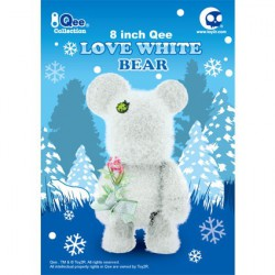 Figur Qee 20 cm Loves White by Raymond Choy Toy2R Geneva Store Switzerland