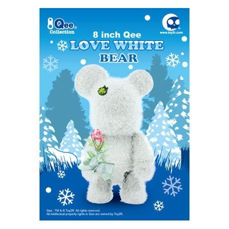 Figurine Qee 20 cm Loves White par Raymond Choy Toy2R Boutique Geneve Suisse