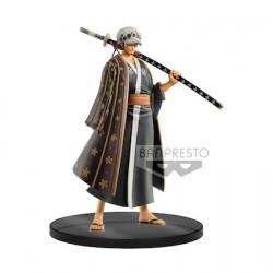Figurine One Piece statuette Grandline Men Wanokuni Vol. 3 Trafalgar Law 17 cm Banpresto Boutique Geneve Suisse
