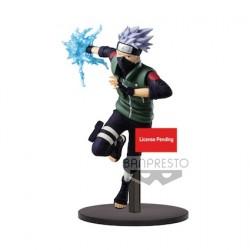 Figur Naruto Shippuden statue Vibration Stars Hatake Kakashi 19 cm Banpresto Geneva Store Switzerland