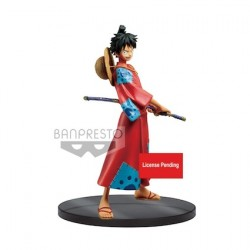 Figur One Piece Stampede statue Grandline Men Monkey D. Ruffy 16 cm Banpresto Geneva Store Switzerland