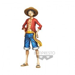 Figur One Piece statue Master Star Piece Monkey D. Luffy Manga Dimension 27 cm Banpresto Geneva Store Switzerland