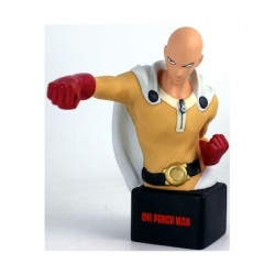 Figurine One Punch Man buste / tirelire Saitama 20 cm Semic Boutique Geneve Suisse