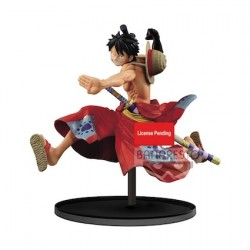 Figurine One Piece statuette Monkey D. Luffy 14 cm Banpresto Boutique Geneve Suisse
